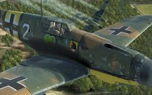Bf109 closeup