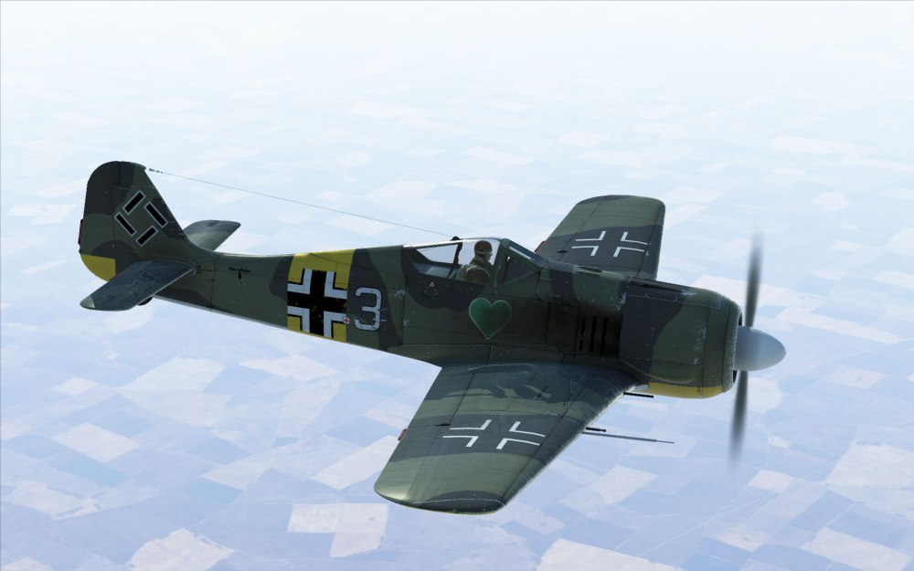 An FW190 of JG54