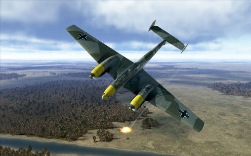 Another victory for my Bf110E-2