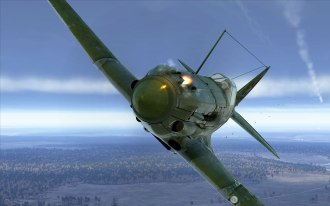 MiG-3 pilot closes in for the kill