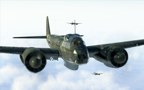 Formation of Ju88s on their next mission