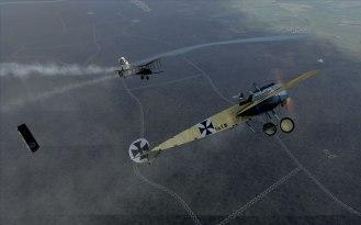 The 'Eindecker' monoplane strikes again