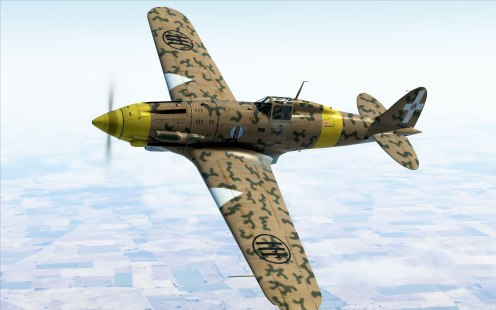 This MC.202 Collector Plane performs best with the Battle of Moscow aircraft. But its so fun to fly in any battle.