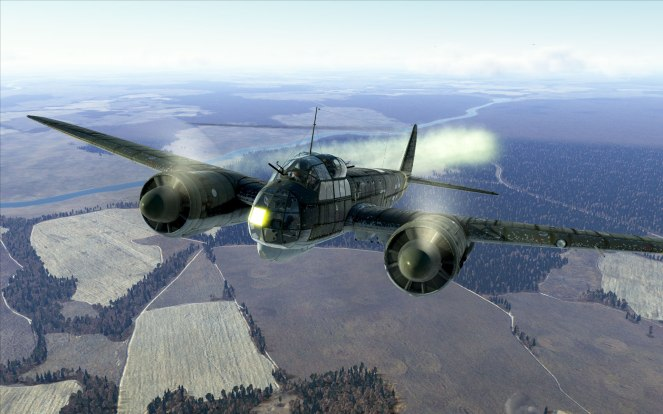 Beauty shot of the Ju88!