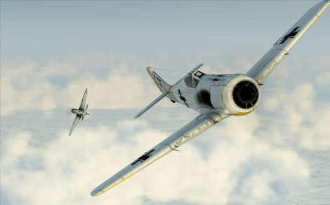 The FW190A-3 is a powerfully armed and highly capable fighter and fighter-bomber