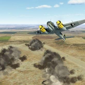 ju88-lowlevel-airfieldhit