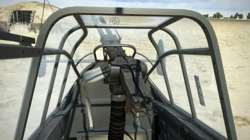 Rear facing MG81Z machine gun position. A rapid fire upgrade.