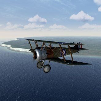 Sopwith Camel near Dover (Rise of Flight)