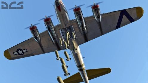b-17g-bombs