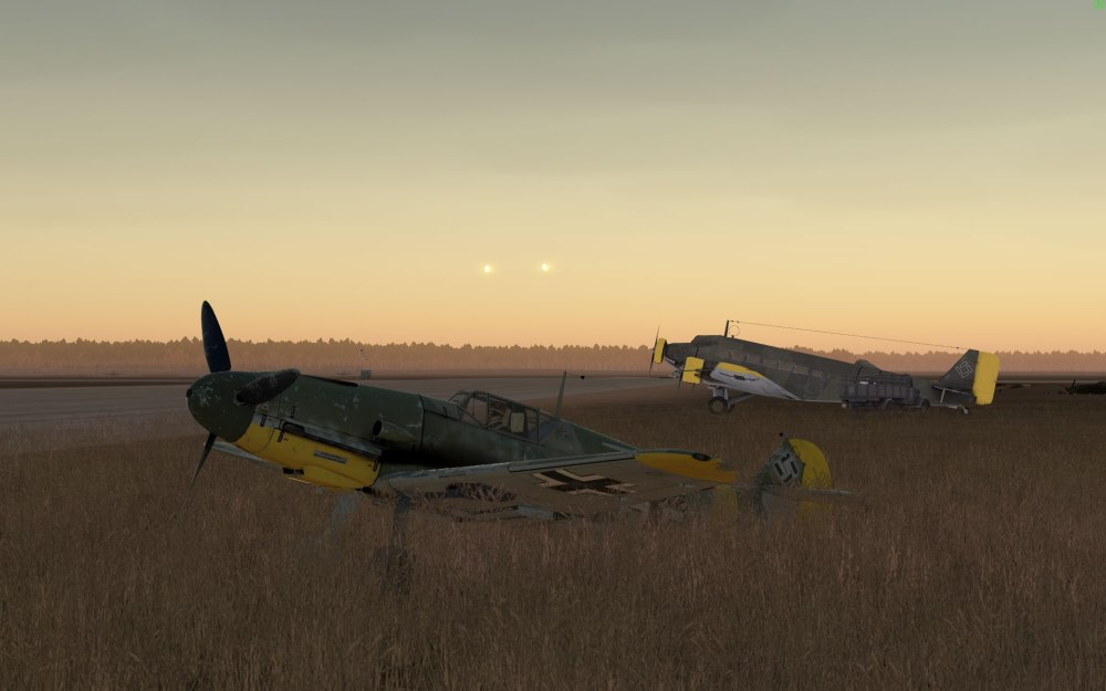 bf109f-2-tendays-parked