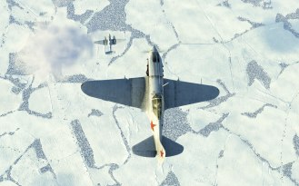 Flying cover for this Pe-2 bomber