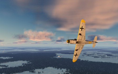 The Bf109Fs are certainly a challenge for the MiG-3 at low altitudes