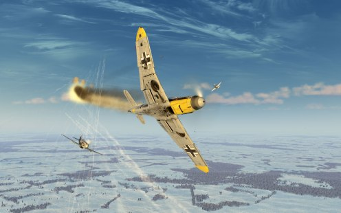 Scored another victory over this Bf109F