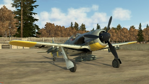 The FW190A-5 will come with more ground attack options including a special low altitude speed boost