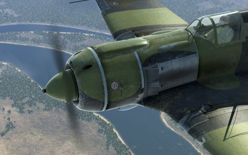 The mark of a boosted M-82F La-5
