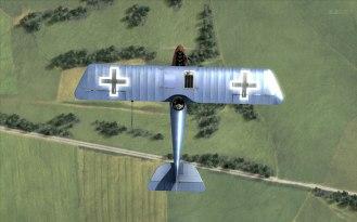 Pfalz D.III overhead (Rise of Flight)