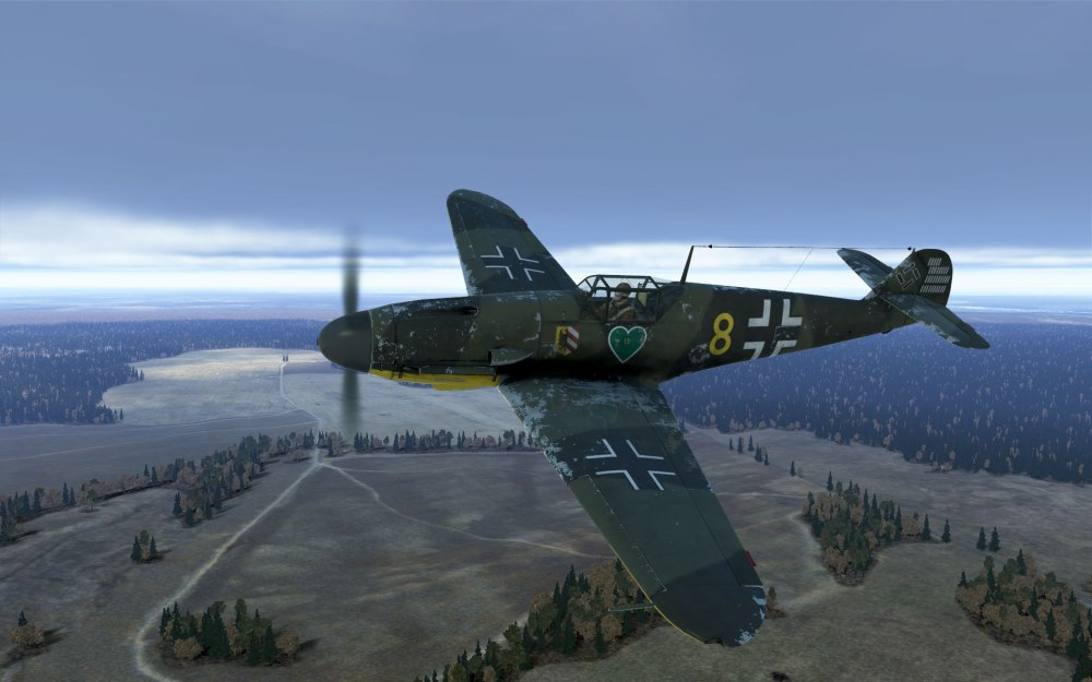 low-level-bf109
