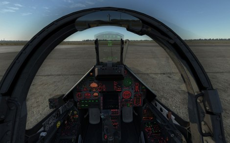 The Mirage 2000C cockpit is fully clickable and is modeled to an incredible level.