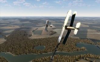 Sopwith Camela vs Albatross D.Va (Rise of Flight)