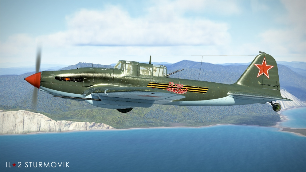 NS-37 equipped IL-2 model 1943