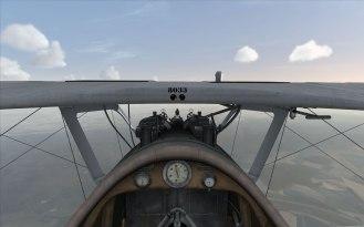 Pfalz D.III cockpit