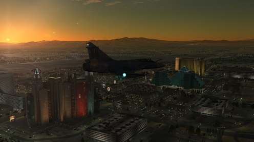 Over Vegas (at Mach 1.2!)