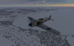 Landing at the frozen base