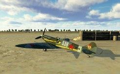 SpitfireVb-parked