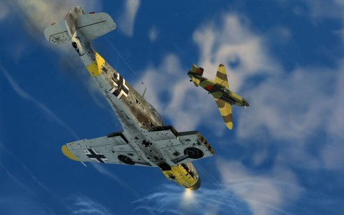 yak1-blazingsteppe-bf109destroyed2