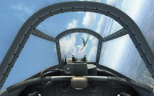 Through the gunsight of a Yak-1