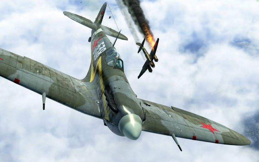 SpitfireVb-guards-ju88victory