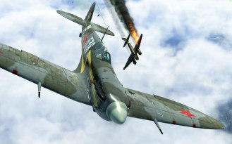SpitfireVb-guards-ju88victory