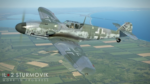 More powerful armament including the MK108 30mm cannon will make the Bf109G-6 an interesting pick.