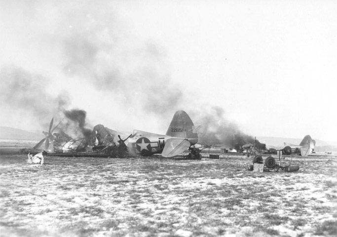 Y-34_Metz_Airfield_-_Destroyed_P-47s_Operation_Bodenplatte