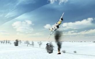 Hs129-winterscene