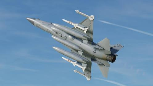 Better view of the underside of the JF-17