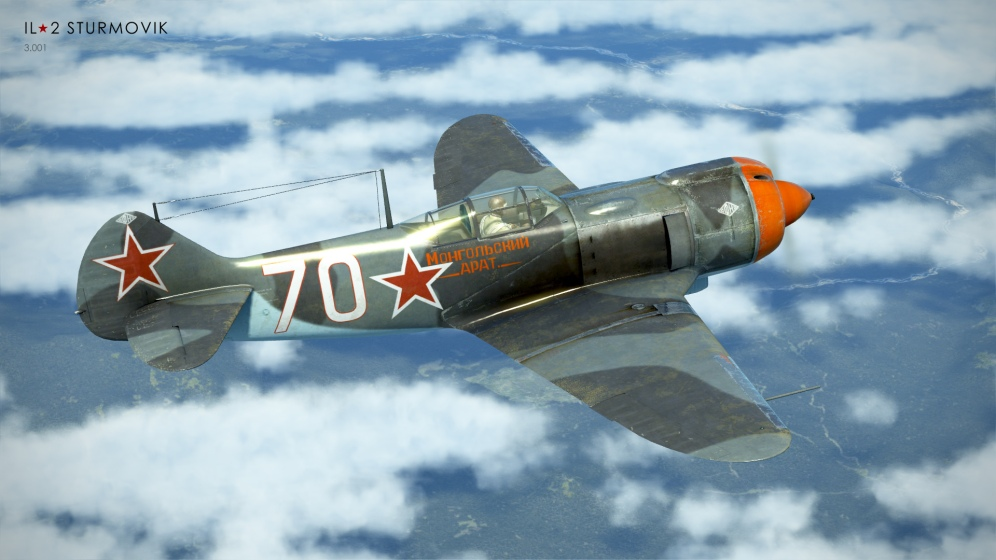 This new Collector Plane will be one of the best in the Russian line-up and represents an aircraft well flown by Russian aces.