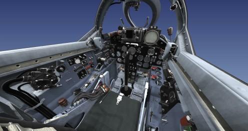 MiG-19 cockpit