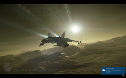 Love the look of the Gladius fighter