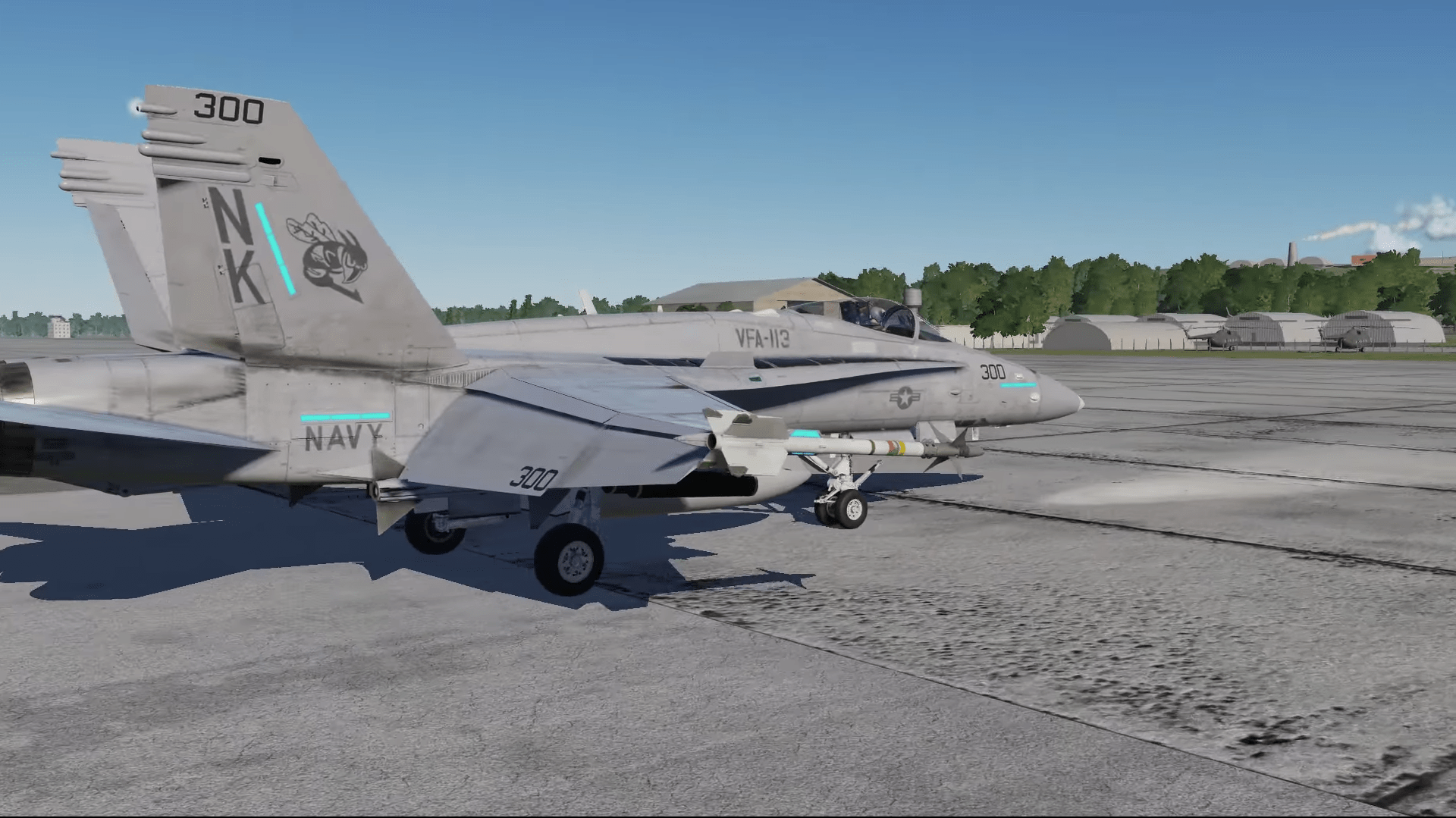 Work continues on DCS: F/A-18C Hornet – Stormbirds