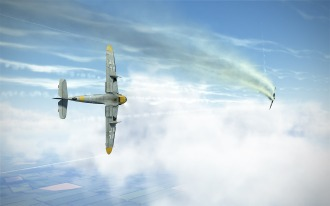 Chasing after a Yak-1B