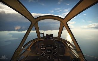 Cockpit of the Ki-61 'Tony'