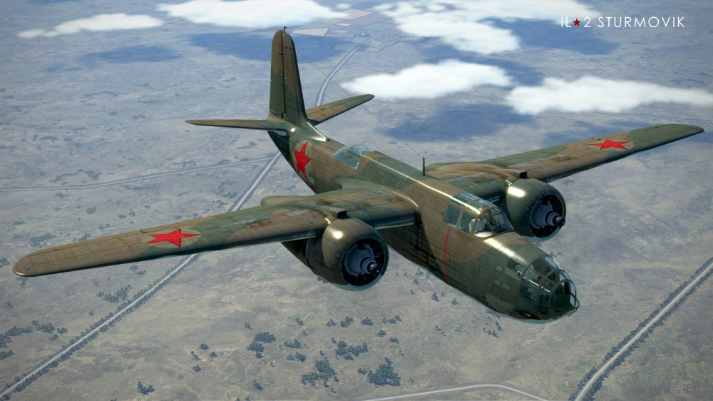 A-20B-REDSTAR