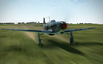 yak1b-takeoff-roll