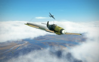 Bf109F-4-fire-traded