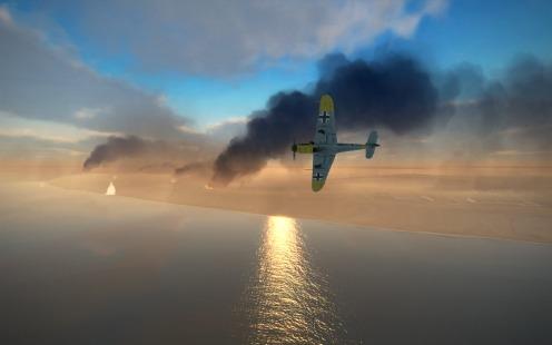 Bf109F-4-starlingrad-at-dusk