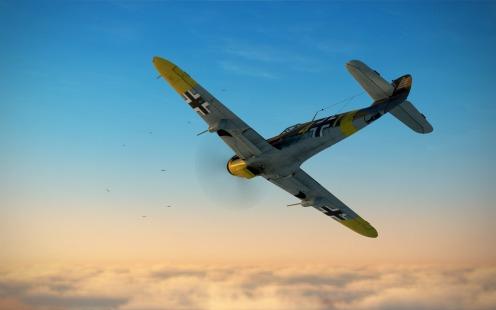 Bf109F-4-sunset-fight