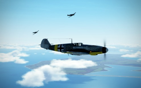 Bf109G-2-break