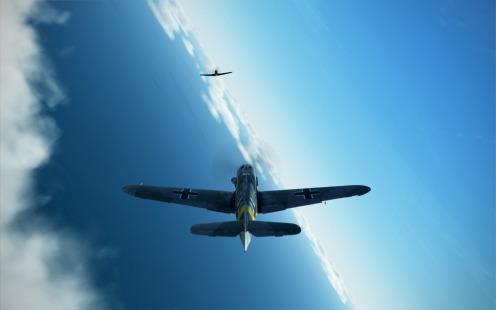 Bf109G-2-chasing-P39