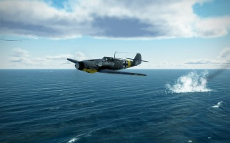 Bf109G-2-in-the-drink